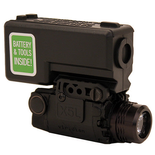 Viridian Green Lasers Universal Tactical Light Mount with Strobe/ECR Green