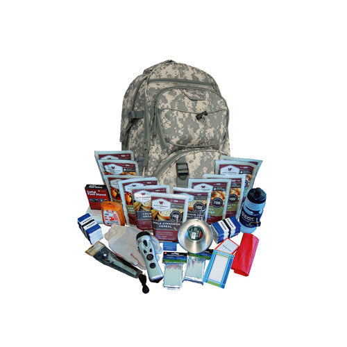 Wise Foods 2 Week Essential Survival Backpack (Camo)