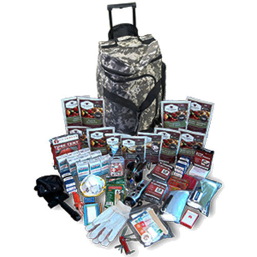 Wise Foods 2 Week Deluxe Survival Backpack (CAMO)