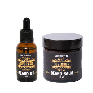 Governor Beard Combo (Beard Balm & Oil)