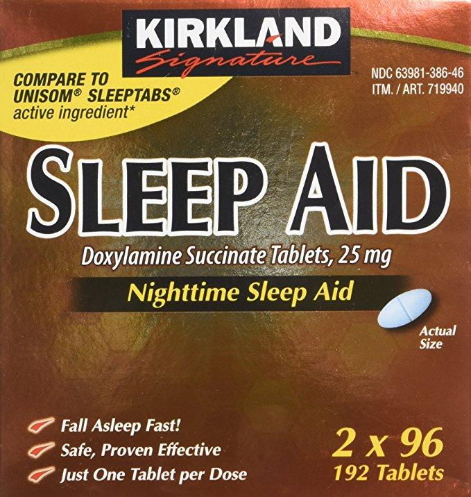 Kirkland Sleep Aid (96 Tablets)
