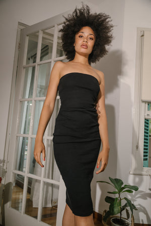 Tarley Tube Dress Black