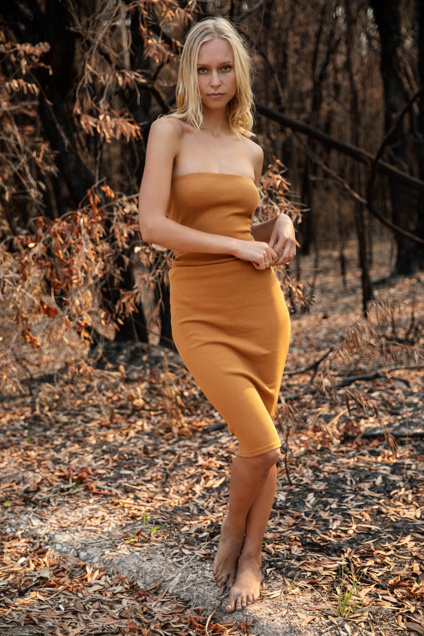 The Tarley Dress Amber