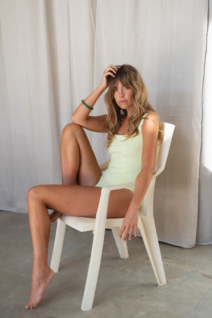 Honeydew Square Bodysuit
