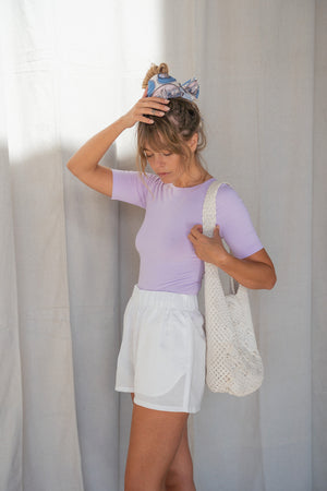 Lilac Tailor Tee