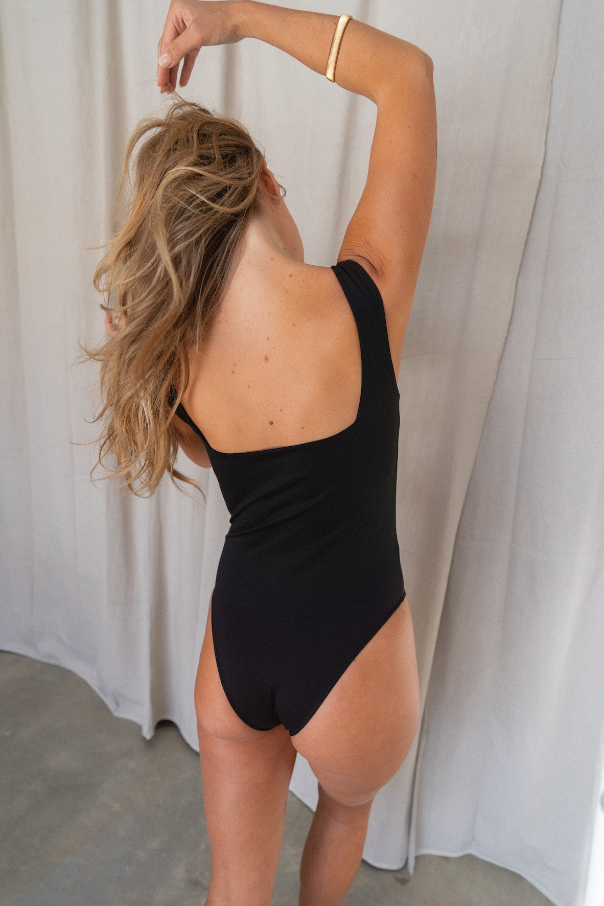 Black Square Bodysuit