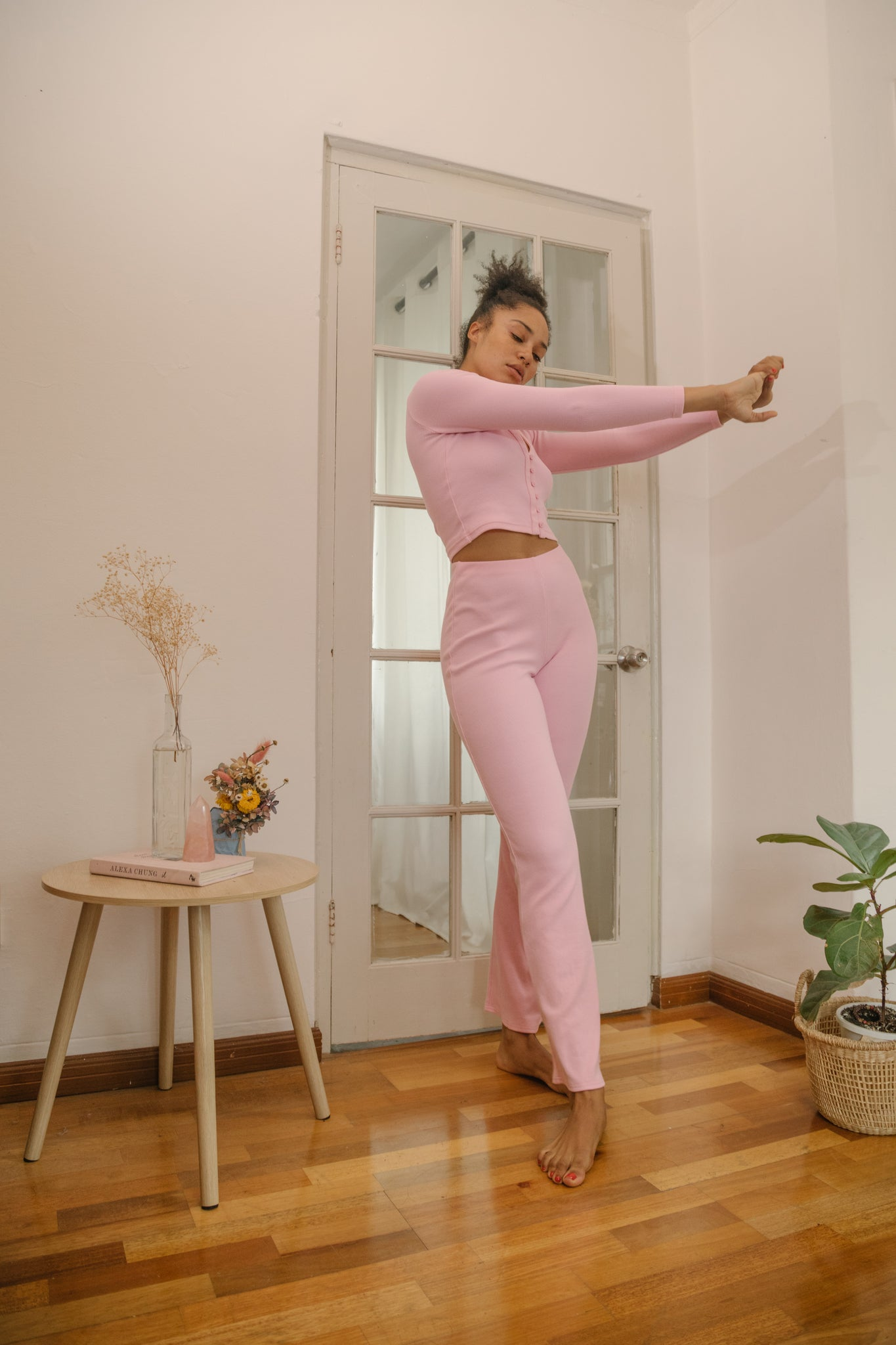 Luka Flared Pant Candy Pink