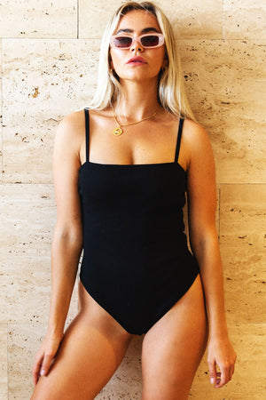 The Mal Bodysuit Black