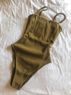 The Mal Bodysuit - Green