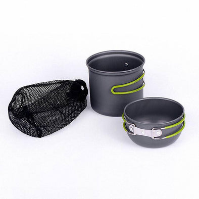 Ultralight Camping Cookware Utensils outdoor tableware set Hiking Picnic