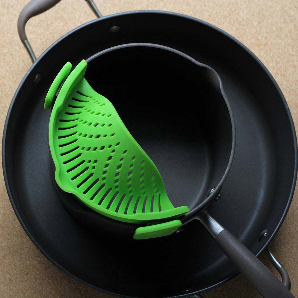 Silicone Pot Strainer - Clip-On Strainer
