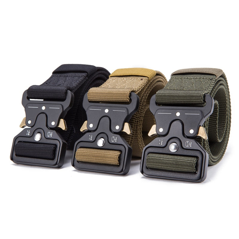 Quick Release Strong Tactical Belt