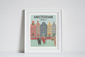 Amsterdam (City Love) - Art Print