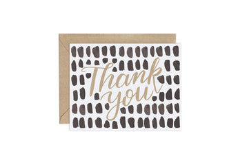 Big Dots (Pattern Party)- Thank You Card