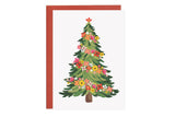Bloom Christmas Tree - Christmas Card
