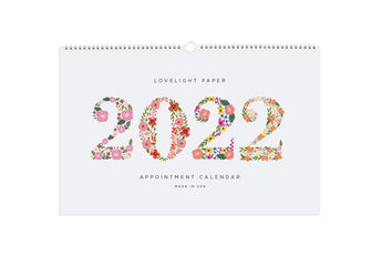 Bloom - Appointment Calendar 2021