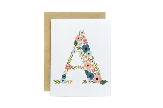 Bloom Monogram Cards