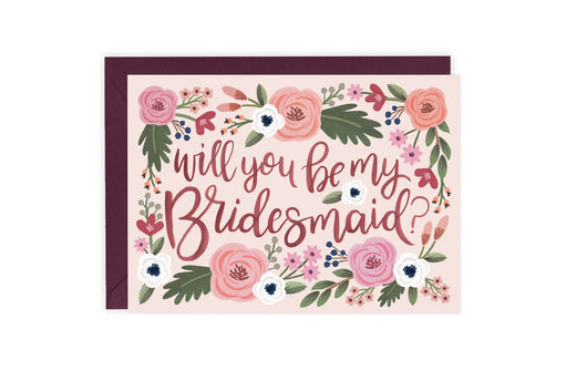 Bridesmaid (Maid / Matron of Honor) - Card