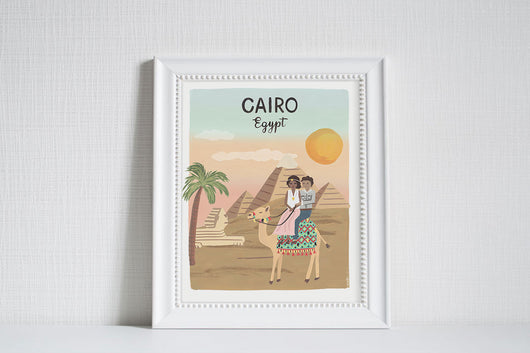 Cairo (City Love) - Art Print