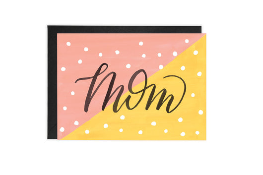 Colorblock Mom - Card
