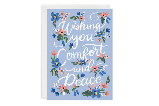Comfort and Peace - Sympathy Card