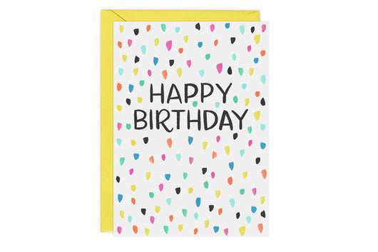 Confetti - Birthday Card