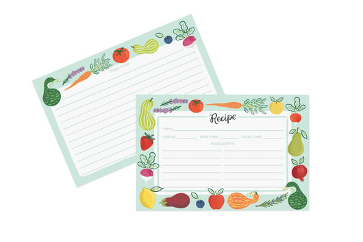 Farm Garden - Recipe Cards [12 pack]