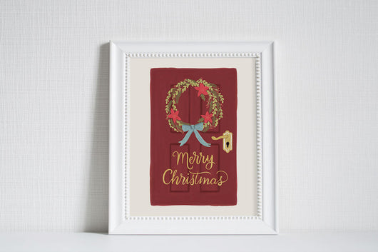 From Our Home - Christmas Art Print