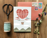 Heart Air Balloon Card (You Make My Heart Soar)