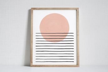 Light - Modern Art Print