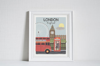 London (City Love) - Art Print