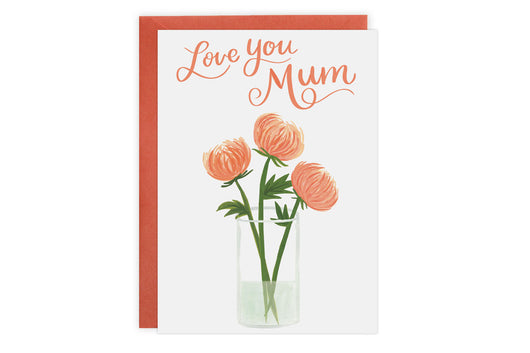 Love You Mum - Card