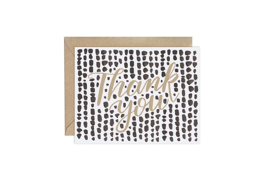 Mini Dots (Pattern Party)- Thank You Card