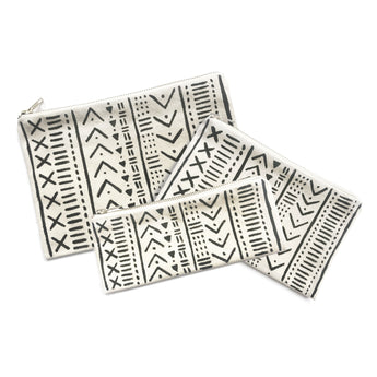 Mud Cloth - Canvas Pouch