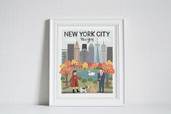 New York City (City Love) - Art Print