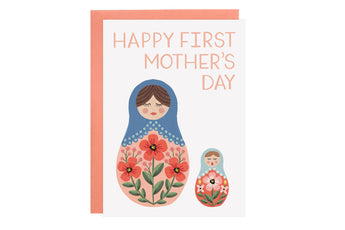 Nesting Dolls - First Mother's Day - Card
