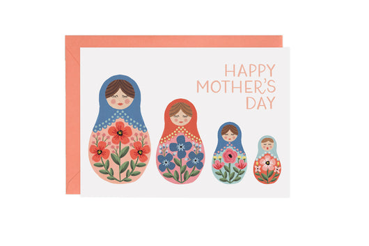 Nesting Dolls - Mother's Day Card