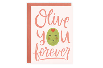 Olive You - Card