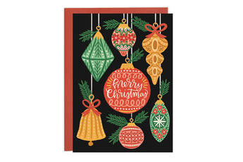 Ornaments - Christmas Card