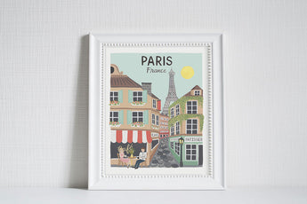 Paris (City Love) - Art Print