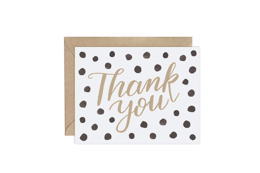 Polka Dot (Pattern Party)- Thank You Card