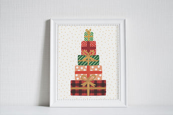 Presents - Christmas Art Print