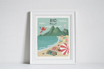 Rio (City Love) - Art Print