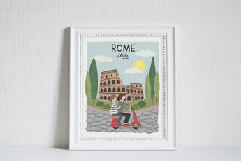 Rome (City Love) - Art Print