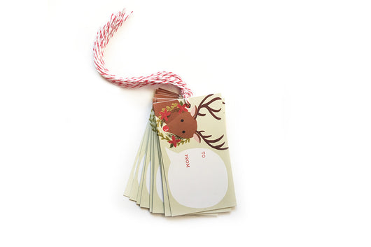Rudolph Gift Tags - Pack of 10