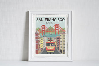 San Francisco (City Love) - Art Print