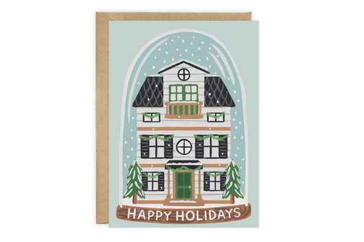 Snow Globe - Christmas Card