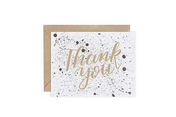 Splatter (Pattern Party)- Thank You Card