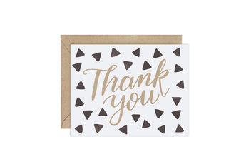 Triangle (Pattern Party)- Thank You Card