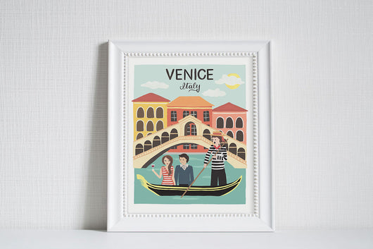 Venice (City Love) - Art Print